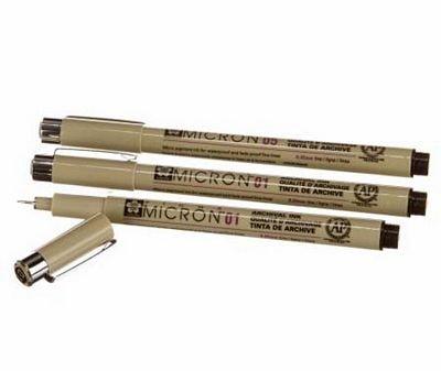 Box, Zentangle - Micron Pen 3 Pc Set