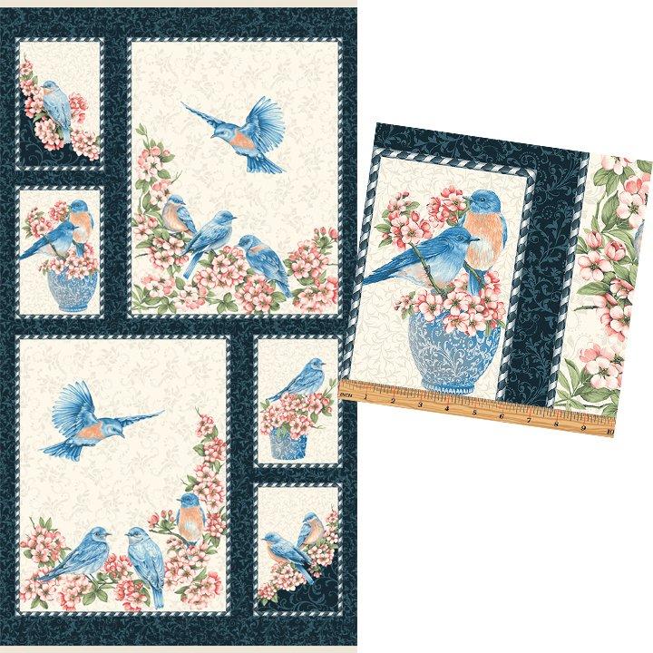 Bluebird Gathering Bluebird Panel