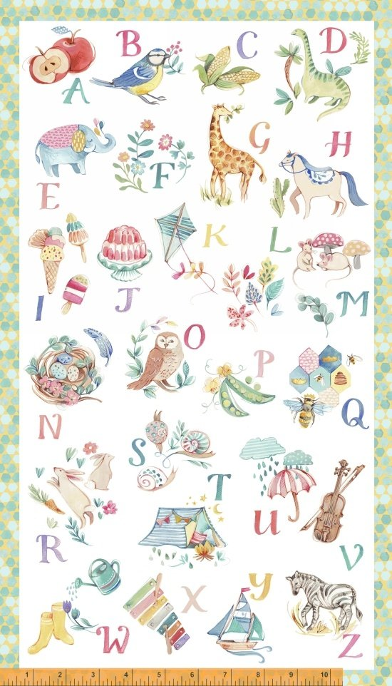 My Imagination - Alphabet Panel Multi