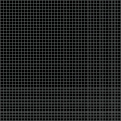 Warp & Weft Mini Gingham Black