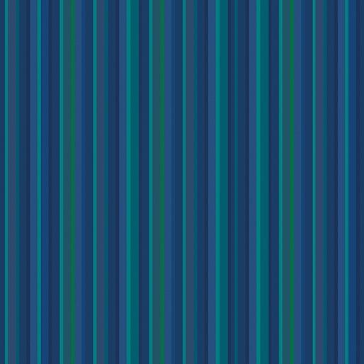 Warp & Weft Stripe Blue