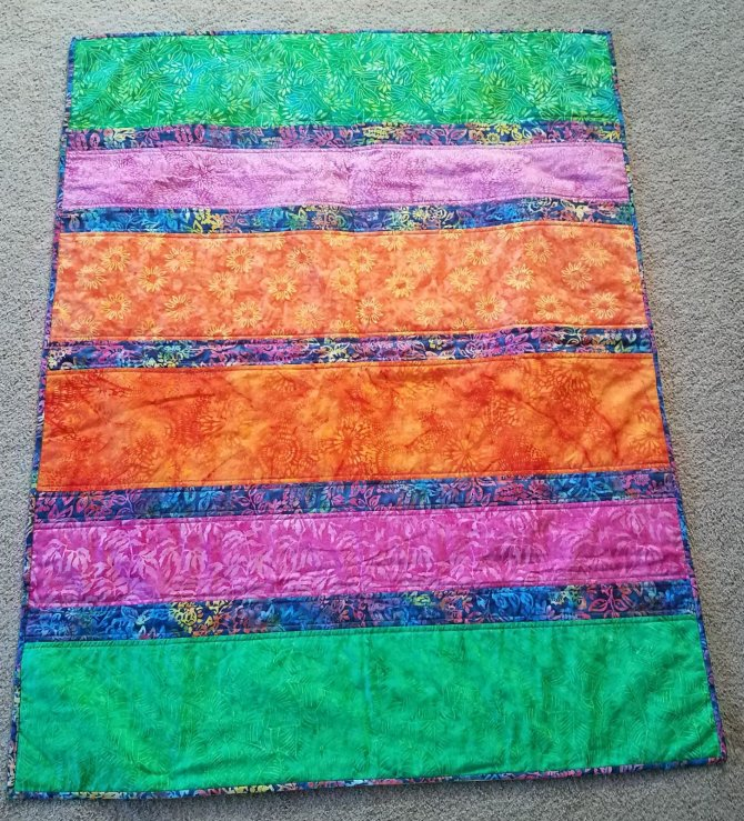 Baffled Quilt Side One