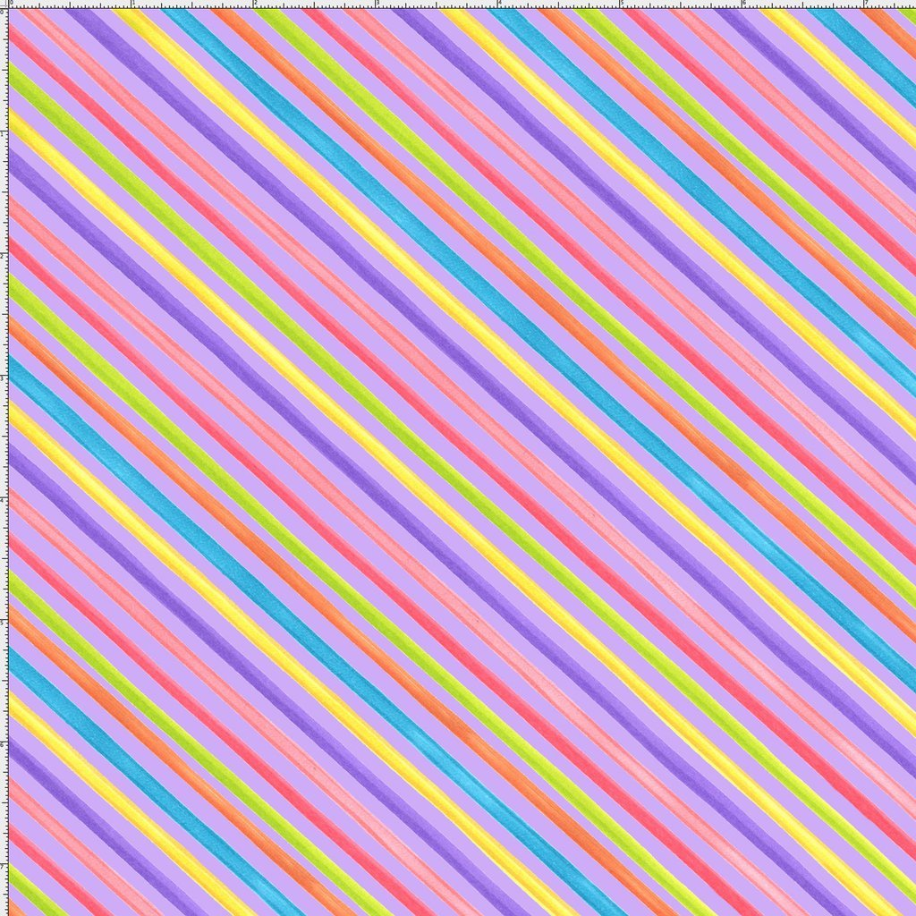 Bias Stripe Purple