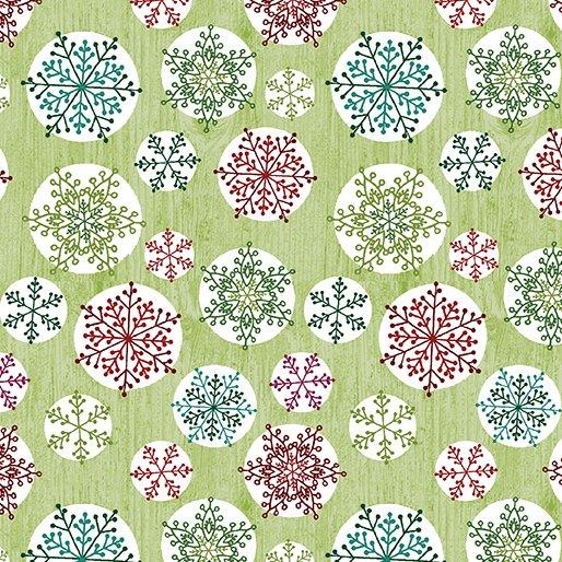 Hearty The Snowman - Circle Flake Green