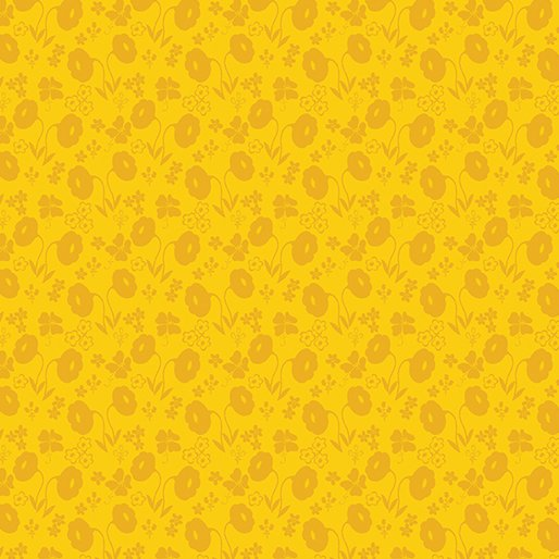 Sew Excited - Floral Fun Yellow