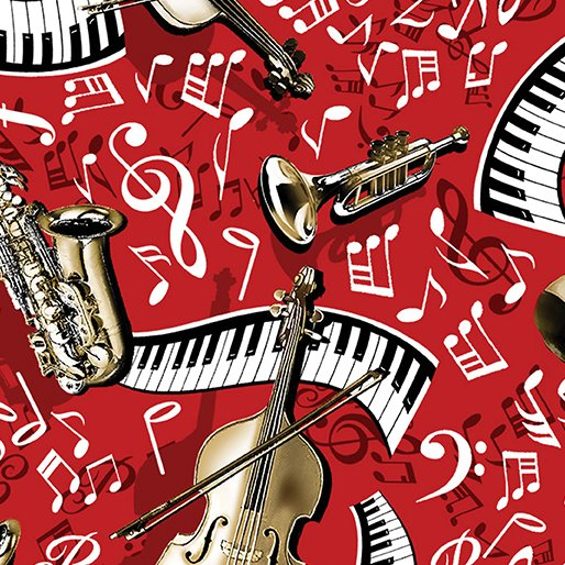 Musical Moments - Making Music Red