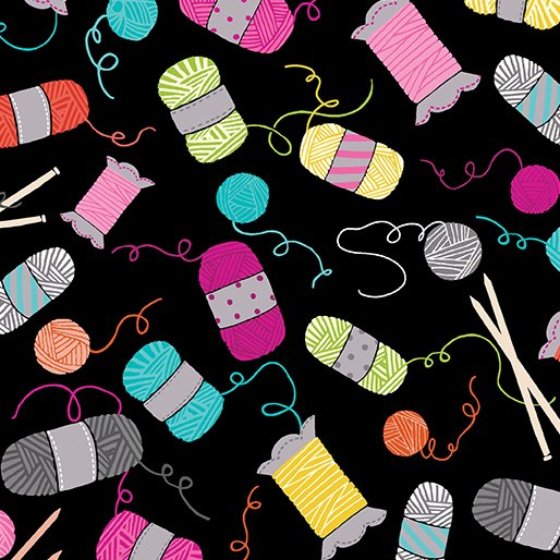 Knit Together - Knitting Notions Black
