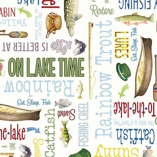 Keep it Reel Lakeside Words Cream