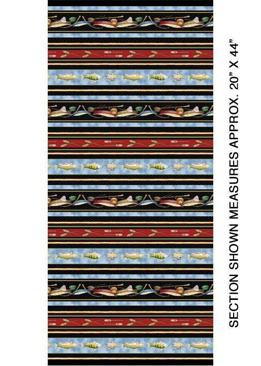 Keep it Reel Lake House Stripe Multi