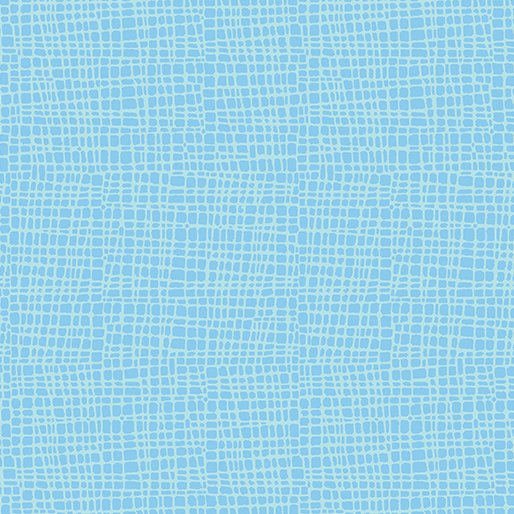 Toadily Cute Crosshatch - Turquoise