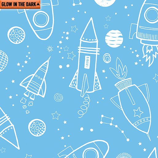 All Systems Glow - Outer Space Glow Sky Blue
