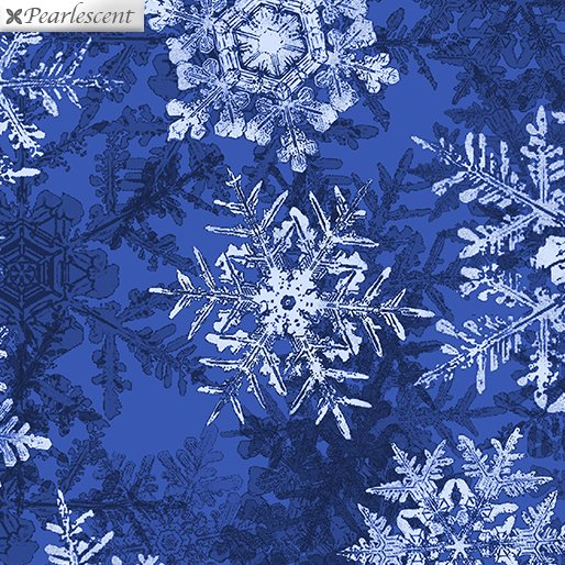 Pearl Frost Snowflake Frost - Cobalt