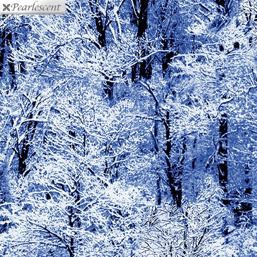 Pearl Frost Winter Trees - Royal