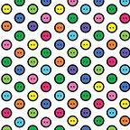 Sew Easy - Button Dot White