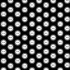 Sew Easy - Button Dot Black/White