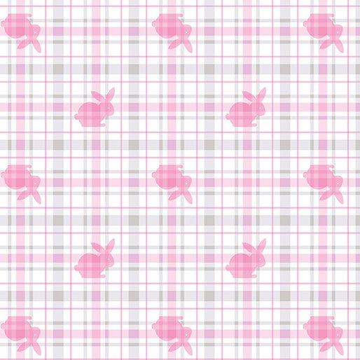 Hunny Bunny Plaid - Pink