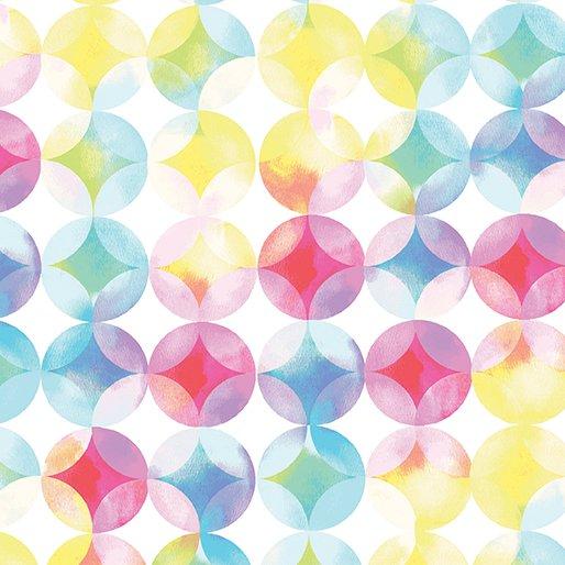 Blocks of Brilliance - Mottled Circles Pastel