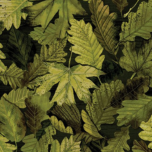 Nature Walk - Forest Foliage - 44 Leaef Green