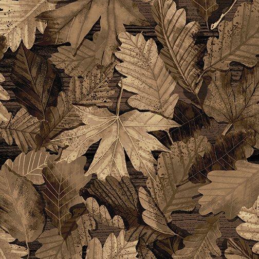 Nature Walk - Forest Foliage - 77 Sepia
