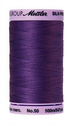 Mettler Silk Finish Cotton - 547 yds. - 0030 Iris Blue