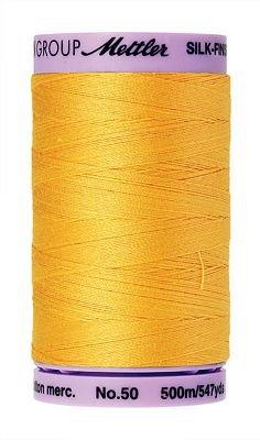 Mettler Silk Finish Cotton - 547 yds. - 0120 Summersun