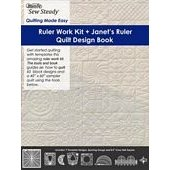 Westalee Ruler Work Kit Janets Ruler Quilt Design Book Long