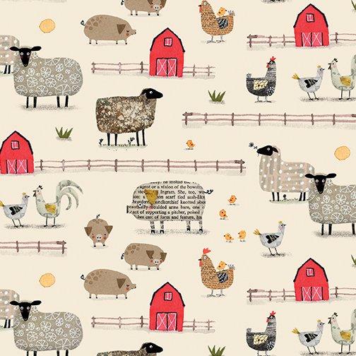 On the Farm - Farm Scene Cream