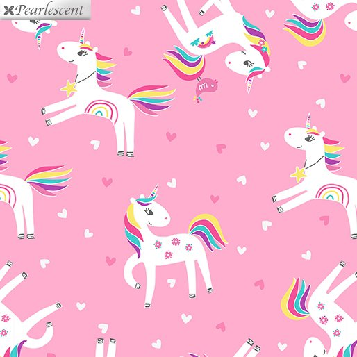 Unicorn Magic - Unicorn Love - Pink