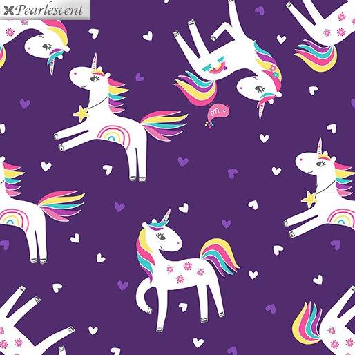 Unicorn Magic - Unicorn Love - Purple