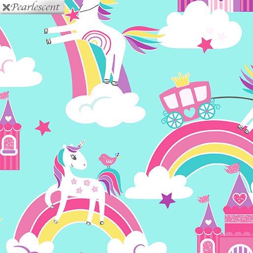 Unicorn Magic - Unicorn Dreams - Aqua