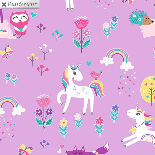Unicorn Magic - Magical Forest - Lilac
