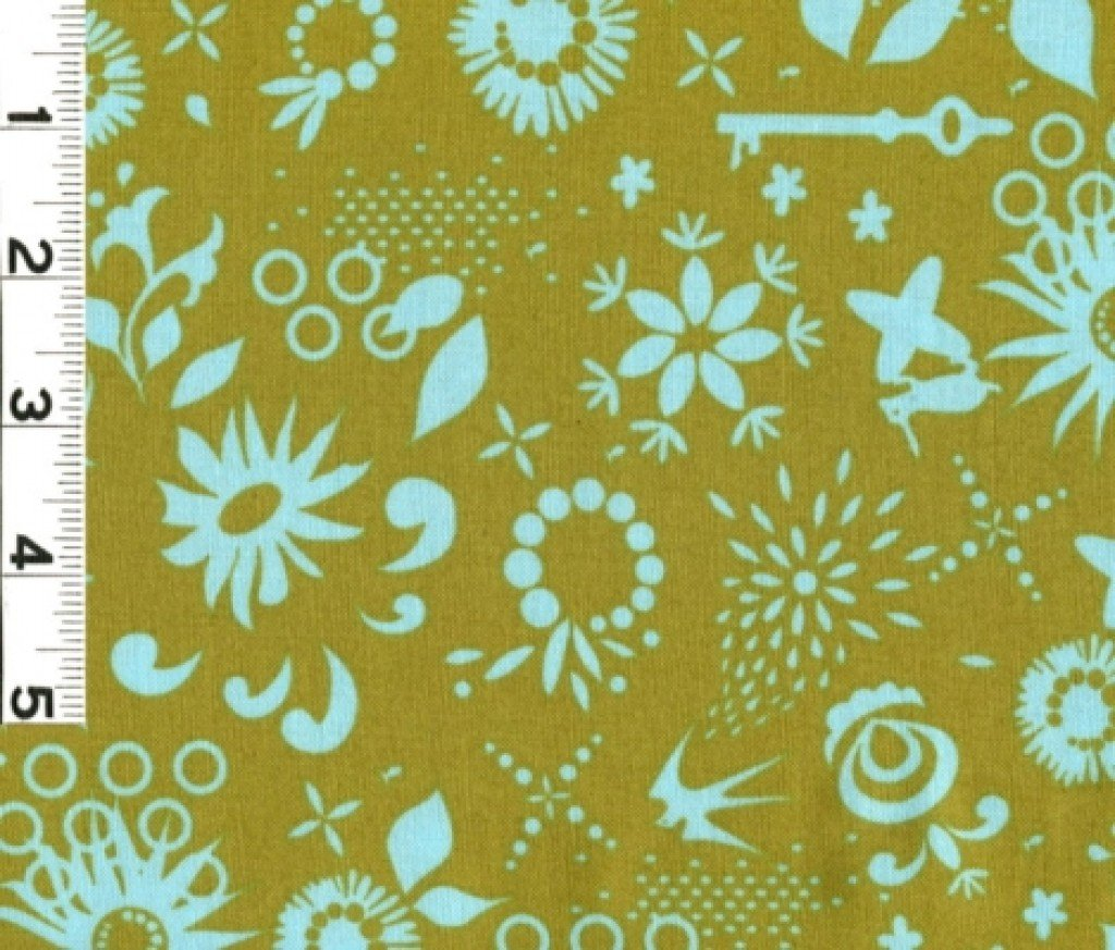Clover Sunshine Teal/Green