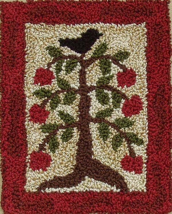 Punchneedle Embroidery Kit - Apple Tree