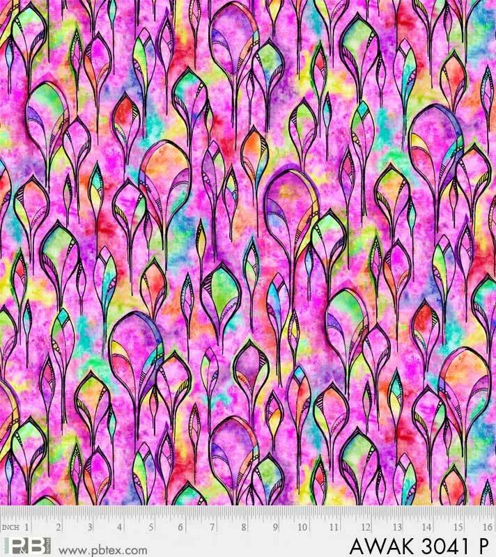 Awakening - GEO Feathers Pink