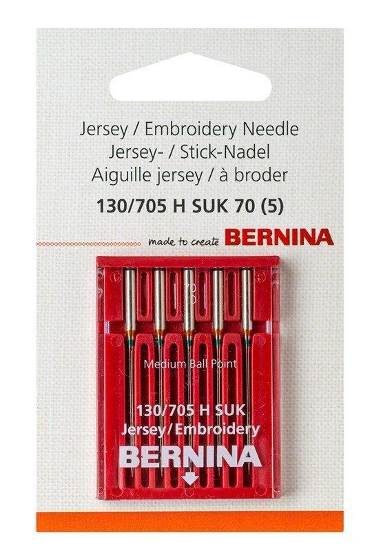 Bernina SUK Embroidery Needle Set Asst. 5 Pk.