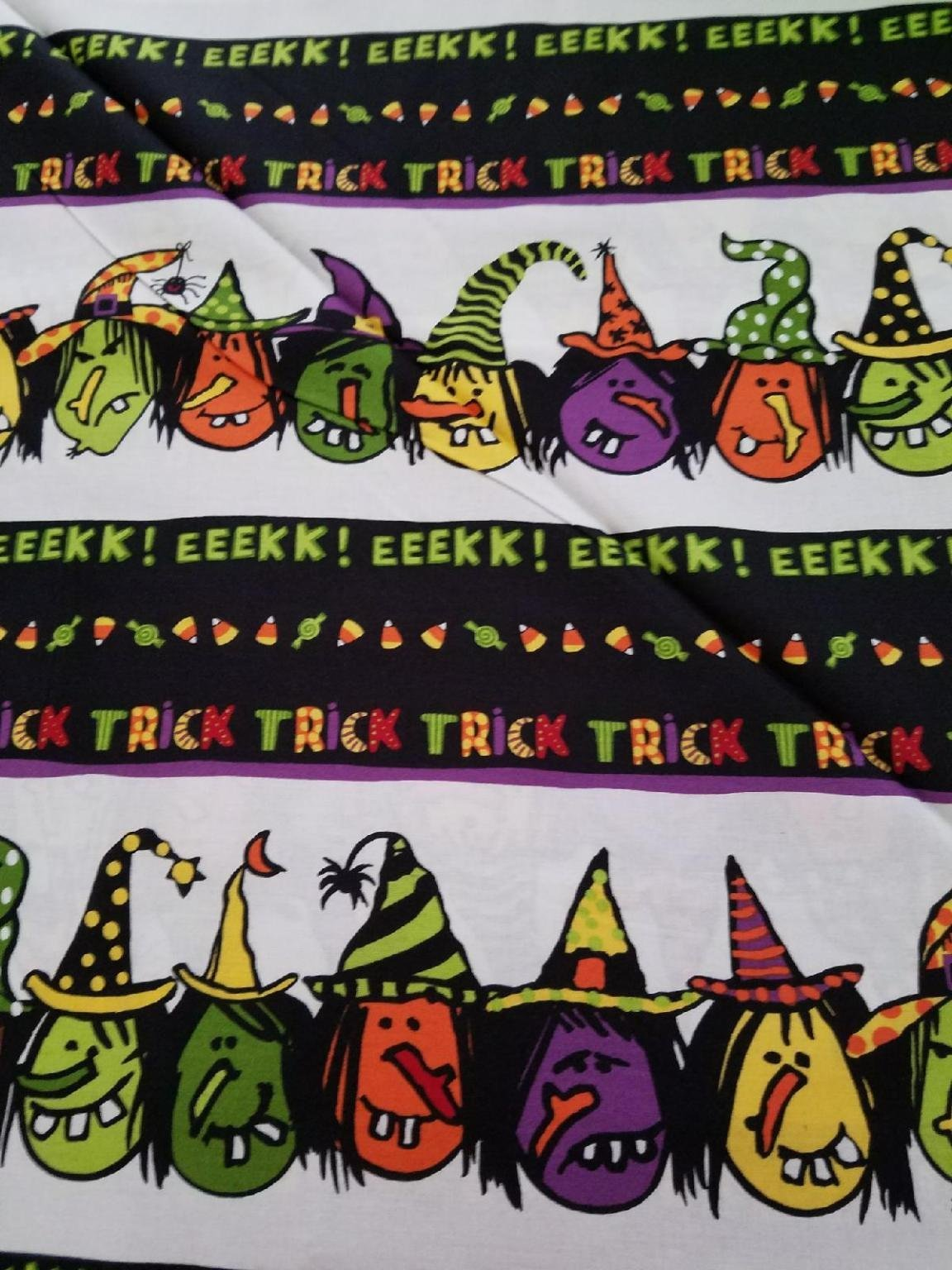 Be Witched Black/white Border