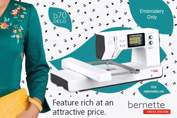 bernette Deco 70 (Embroidery only)
