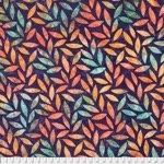 Kaffe Mediterianean Tile - Tumbling Leaf Purple