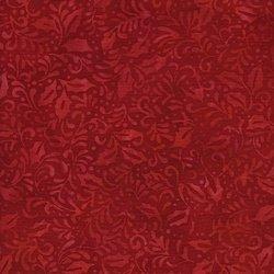 Holiday Happenings Batik Red