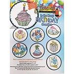 In the Hoop Birthday Coasters