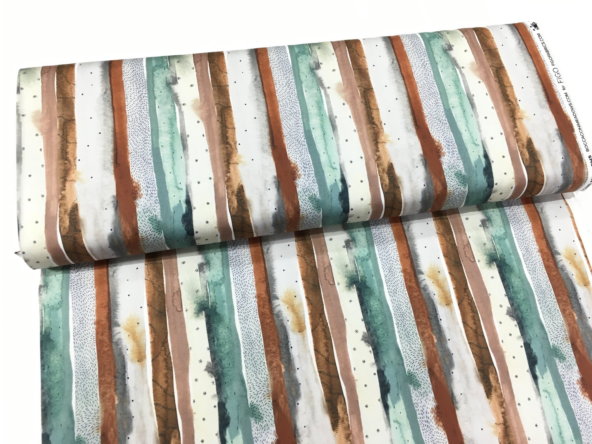 Desert Wilderness - Green Stripe