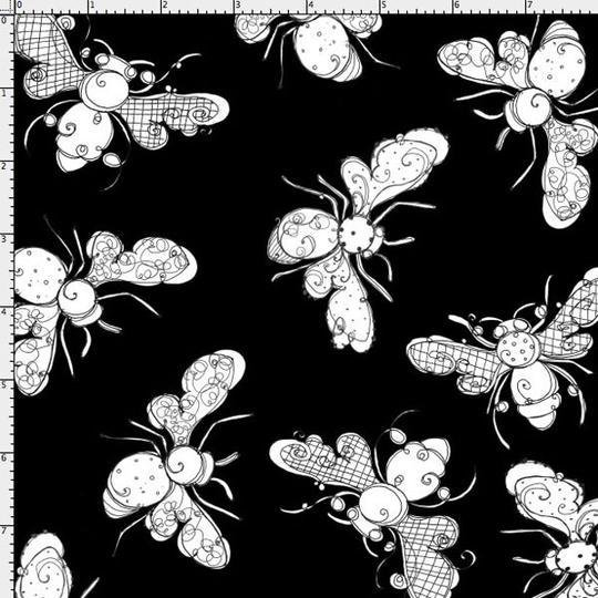 Busy Bees Black