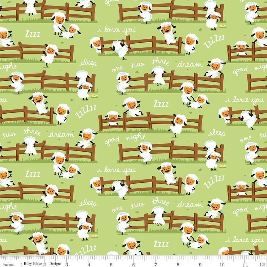 Harmony Sheep Dream - Green
