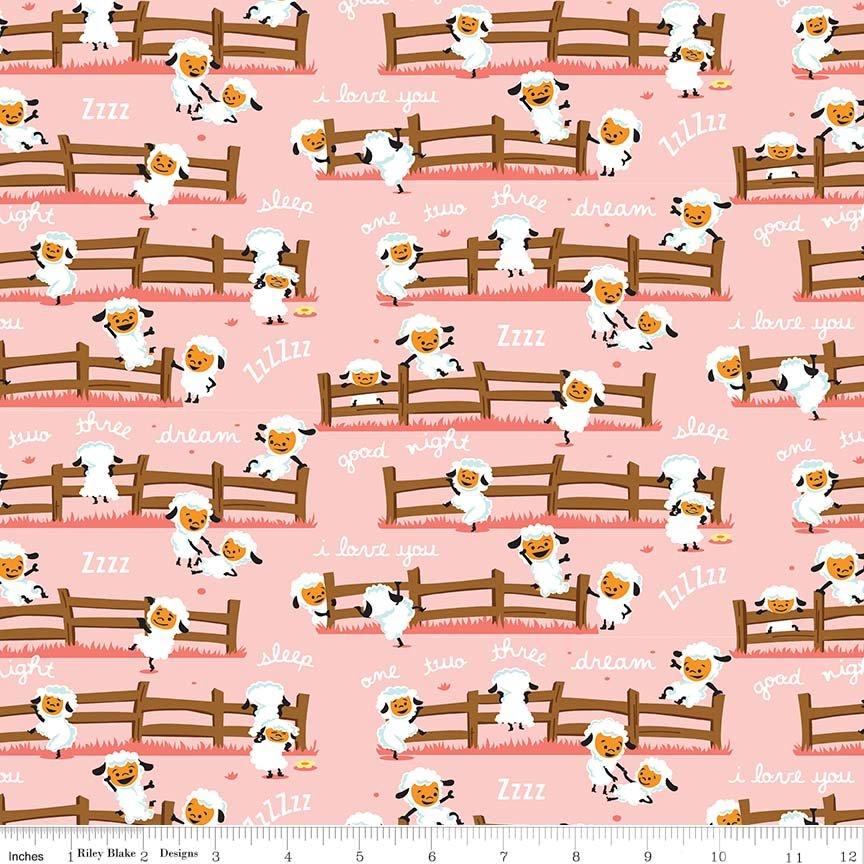 Harmony Farm Sheep Dream - Pink