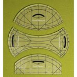 Good Measure Longarm Quilting Template - Every Curve Set of 3
