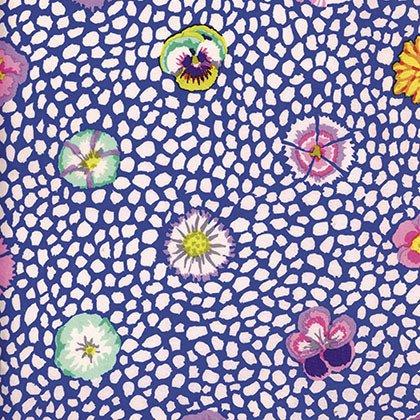 Kaffe Mediterianean Tile - Guinea Flower Blue