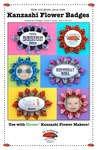 Kanzashi Flower Badges