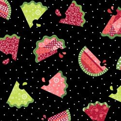 Sprinkle Sunshne - Watermelon Patch Black