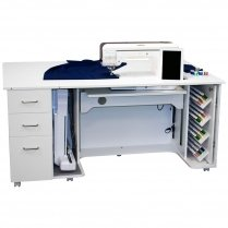 Model 8080 Combo - Sewing/Embroidery/Cabinet