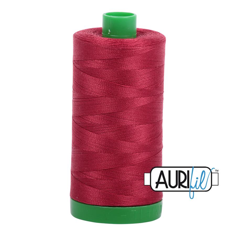 Aurifil 40/2 - 1103  Burgundy